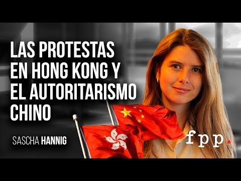 Las protestas en Hong Kong y el autoritarismo chino por Sascha Hannig.