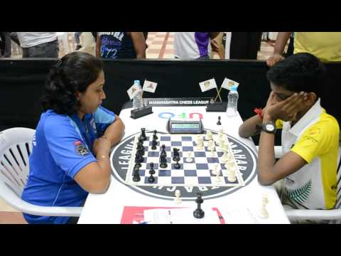 Start of SL Narayanan – Swathi Ghate game from Finals