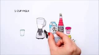 Fun Drinks with RoohAfza : Smoothie