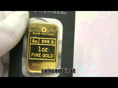 Gold Bar South Africa Rand