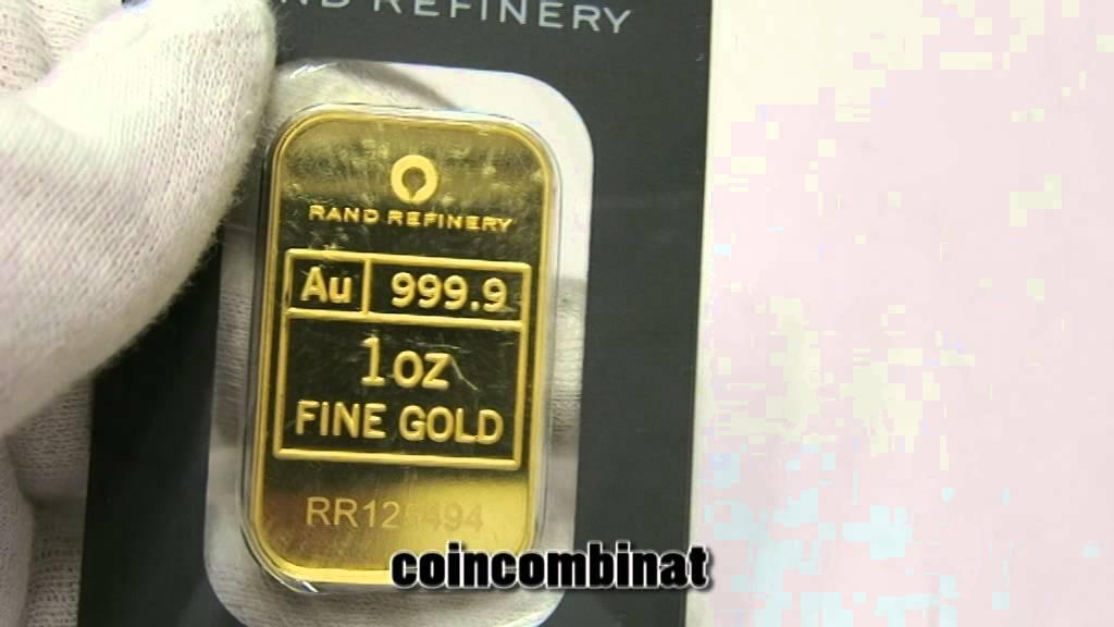 Gold Bar South Africa Rand