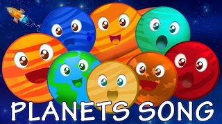 Planet Song | Nursery Rhyme Videos For Kids, Children, Babies And Toddlers