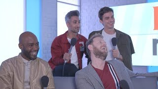 The Queer Eye Cast Talk Season 2, Fav Celeb Fans and Play the Brag Off