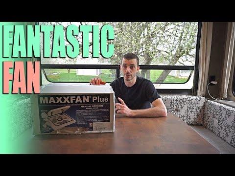 MAXXFAN RV Exhaust Fan Install - RV Upgrades