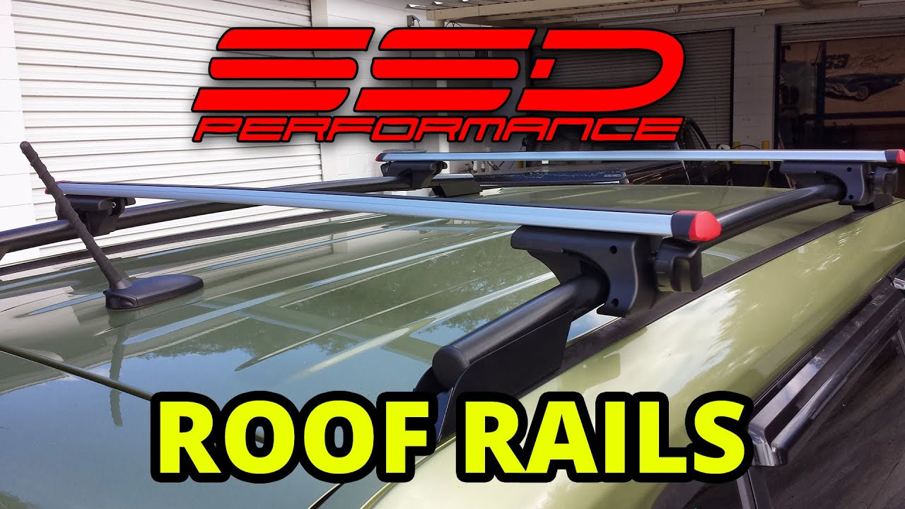 Ssd Performance 2012 Kia Soul Roof Rails Installation