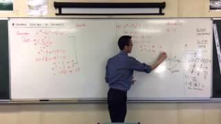 Equations Reducible to Quadratics (2 of 2: Extraneous Solutions?)