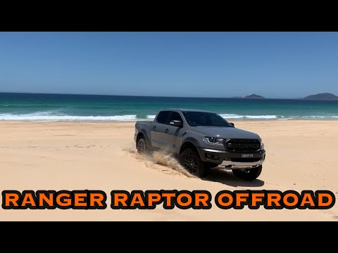 FORD RANGER RAPTOR OFF-ROAD BEACH DRIVING.