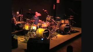 JOHN FAVICCHIA drum solo Florence Italy