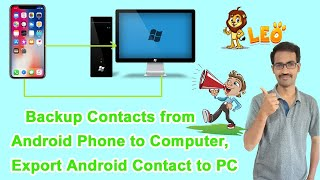 How to Backup Contacts from Android Phone to Computer, Export Android Contact to PC in tamil screenshot 5