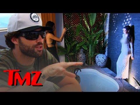 Kim K Gives Brody Jenner A Chub