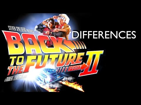 Back To The Future Part II - Inaccuracies