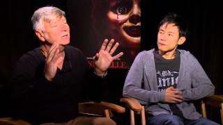 Annabelle: John R. Leonetti & James Wan Interview   Empire Magazine