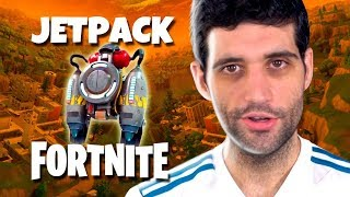 Jetpack em FORTNITE, MINI Nintendo 64 e Lego de OVERWATCH
