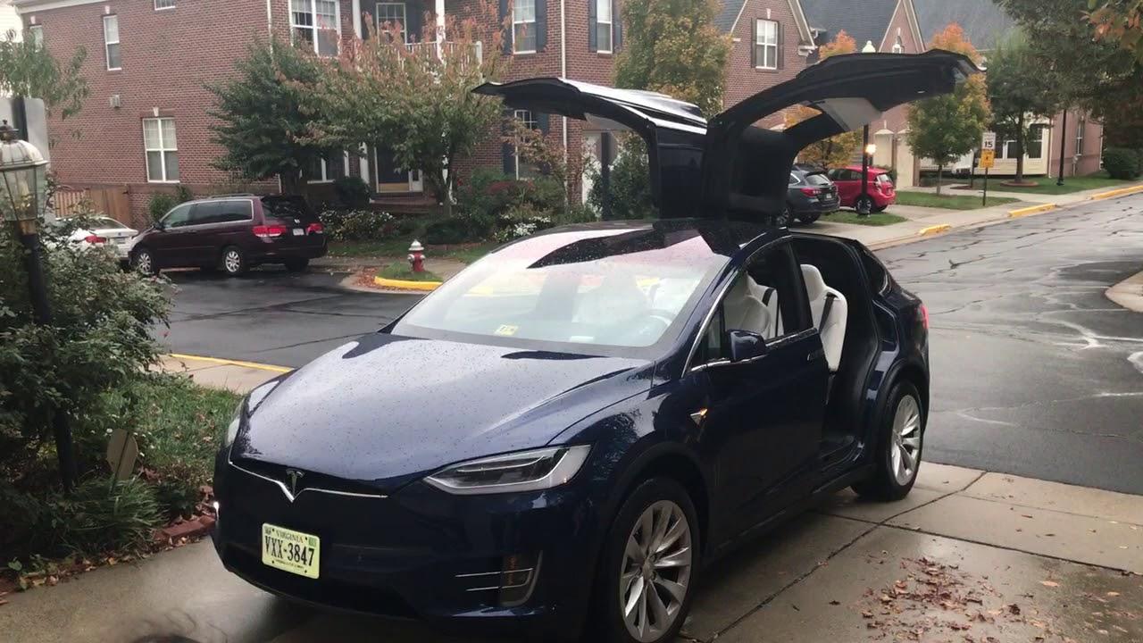 Christmas Dance By Tesla Model X Daytime Youtube