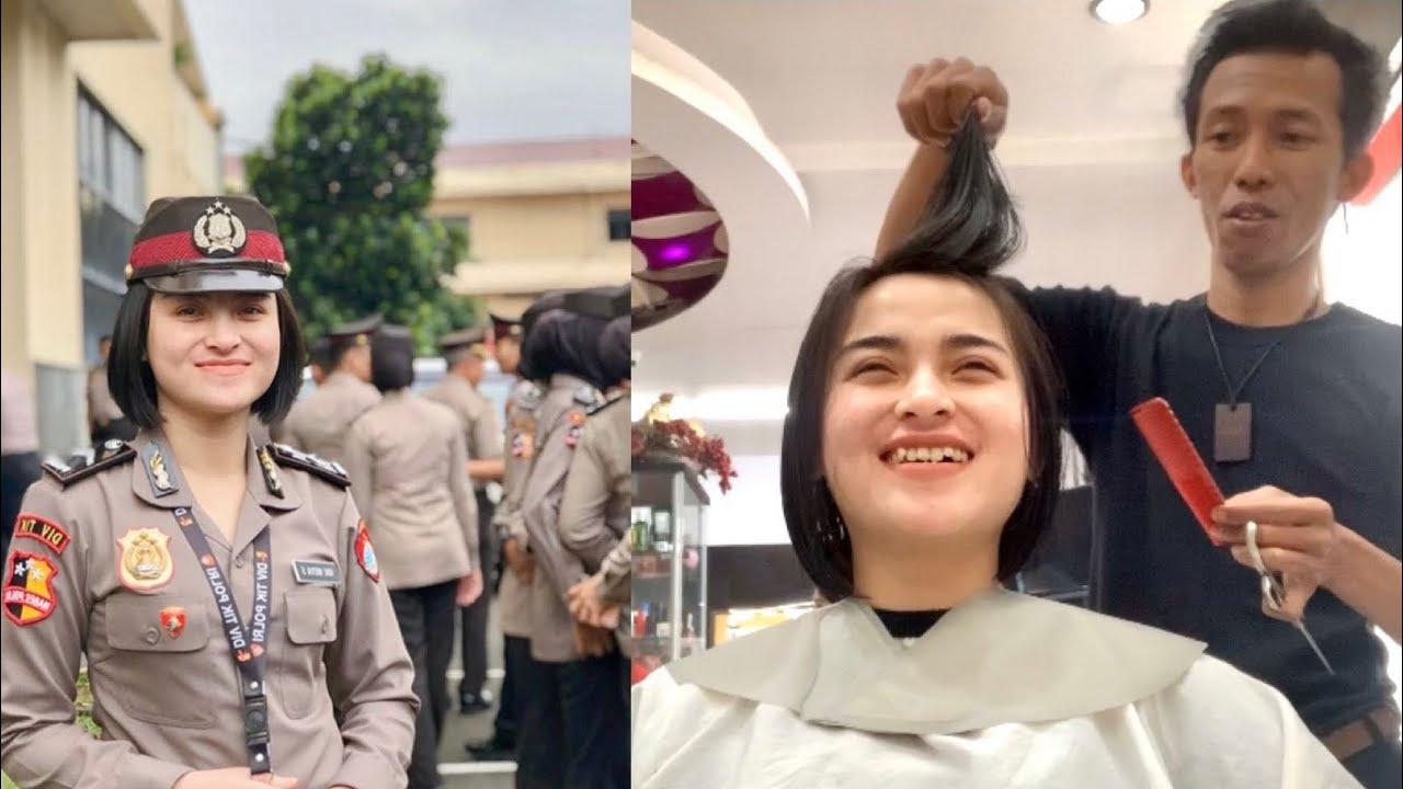 Potong Rambut Polwan