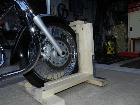 DIY Steady stand motorcycle