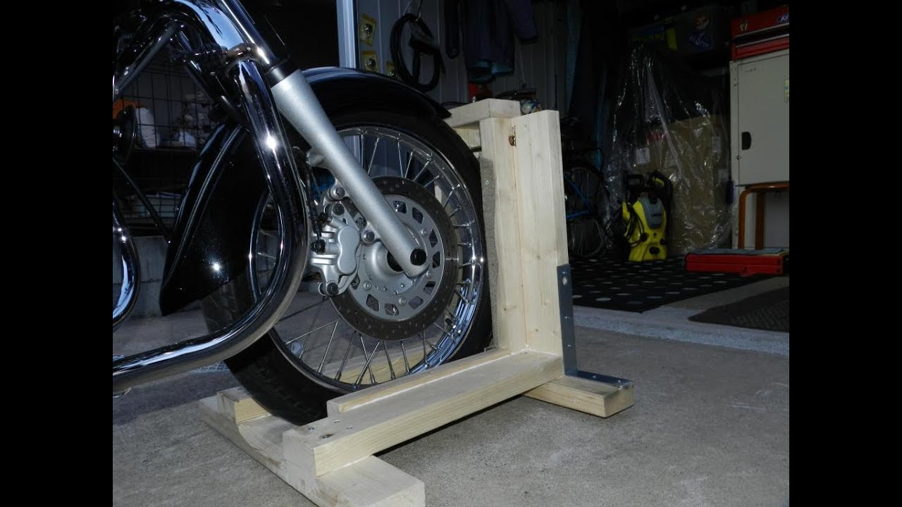DIY Steady stand motorcycle - YouTube