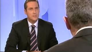 TV Konfrontation Van der Bellen - Strache NR Wahl 2006