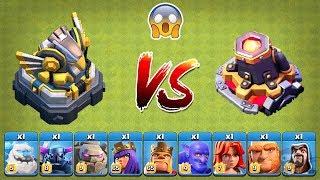 Max Eagle Artillery vs Max Lava Launcher Clash of Clans | Lava Launcher vs Eagle Artillery COC
