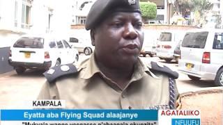 Kampala Eyatta aba Flying Squad alaajanye