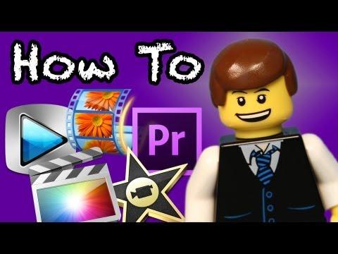 How To Edit A LEGO Animation (Brickfilm)