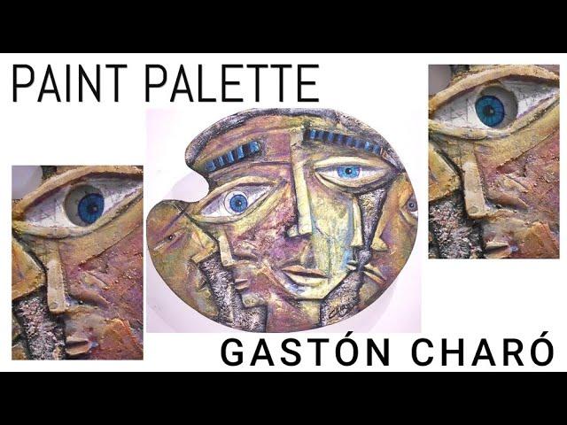 Paint Palette / High relief - Cubism / Gastón Charó
