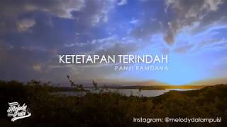 Gambar cover Ketetapan Terindah - Melody Dalam Puisi Panji Ramdana 2