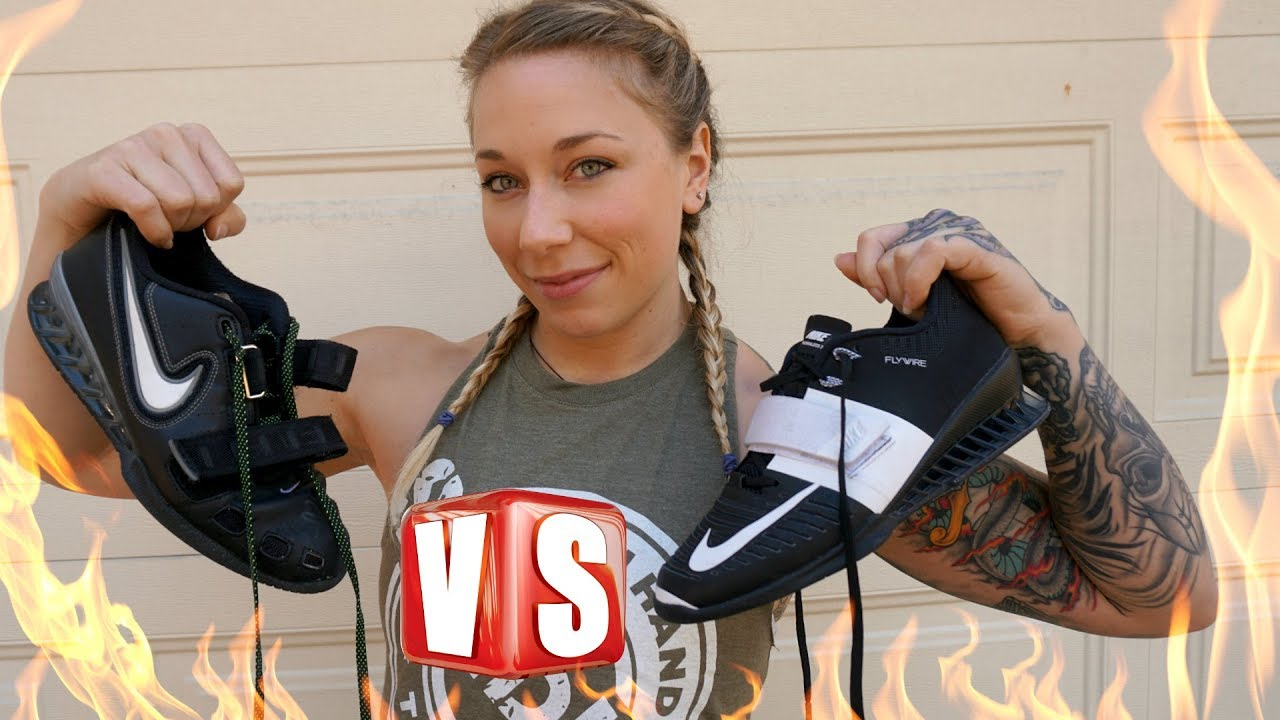 f4056a213fd2 NEW KICKS! Nike Romaleos 3 Weightlifting Shoe Review - YouTube