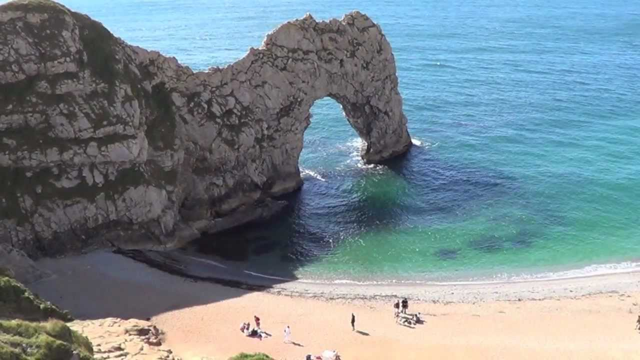 & Durdle Door - Dorset UK (Relaxing Music) - YouTube