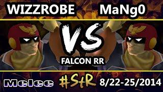 STR - CT | Wizzrobe (Captain Falcon) Vs. C9 Mango (Green) Falcon Round Robin - SSBM - Melee