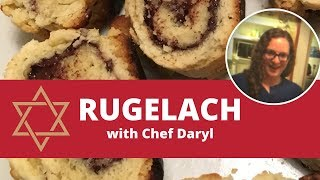 How to make rugelach   Jewish recipes   Chef Daryl