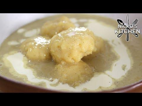 Condensed Milk Dumplings - Retro Dessert Recipe