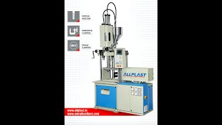 All Plast Upvc vertical injection molding machine