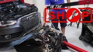In the Shop Ep 6 | Audi Oil Consumption Fix