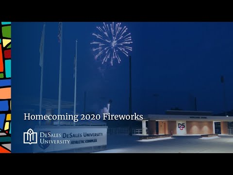 Homecoming 2020 Fireworks