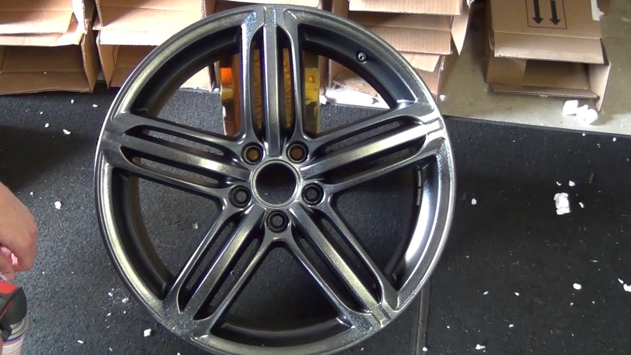 silver metalizer plastidip on a wheel dipyourcar com how to youtube