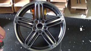 Silver Metalizer PlastiDip on a Wheel - DipYourCar.com How-To