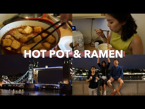 Back to Studying + Hot Pot with Friends | London Vlog #39