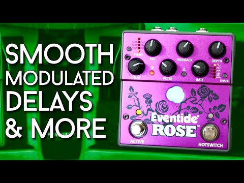 Kissed By A Rose? Eventide Rose Delay Review