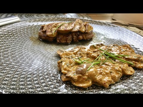 filet-de-boeuf-rossini-et-poêlée-de-champignons