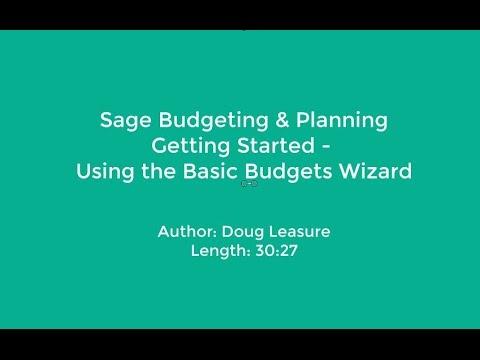 basic budgets
