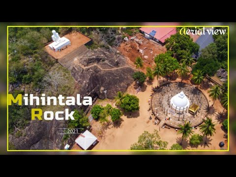 MIHINTALE ROCK   Aerial view  Around Sri Lanka - The heart of the Indian Ocean