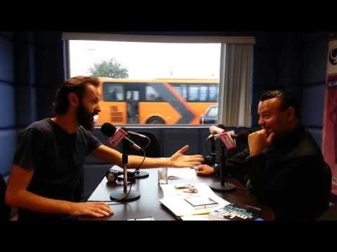 Visita de Leandro Taub a Radio Mujer 1310 AM Monterrey