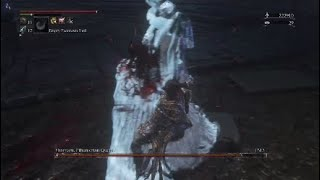 Killing an innocent pregnant Women in Bloodbourne