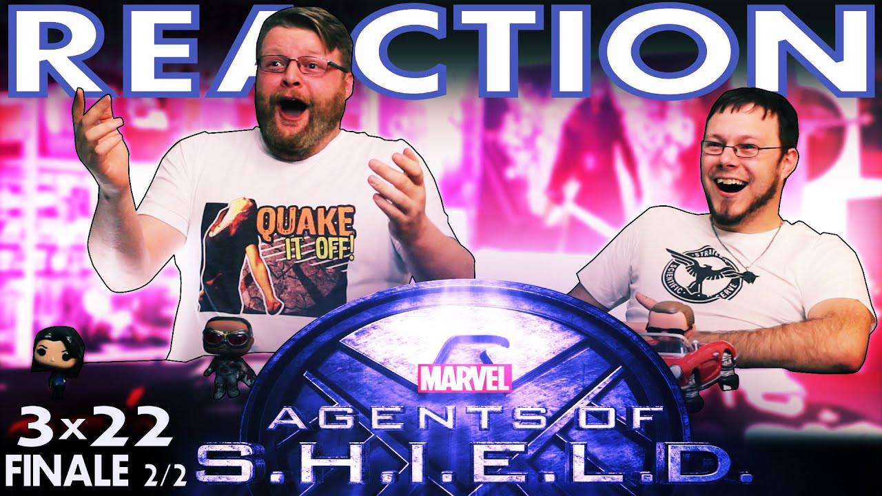 Agents of Shield 3x22 FINALE REACTION!!