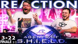 "Agents of Shield 3x22 FINALE REACTION!! ""Ascension"" Part 2 of 2"