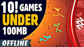 Low MB Games? 10 New Offline Games Under 100MB [2019] | High Graphics Under 100MB OFFLINE | PART 1