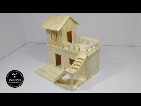 Thumbnail: How to Make Popsicle Stick House for RAT
