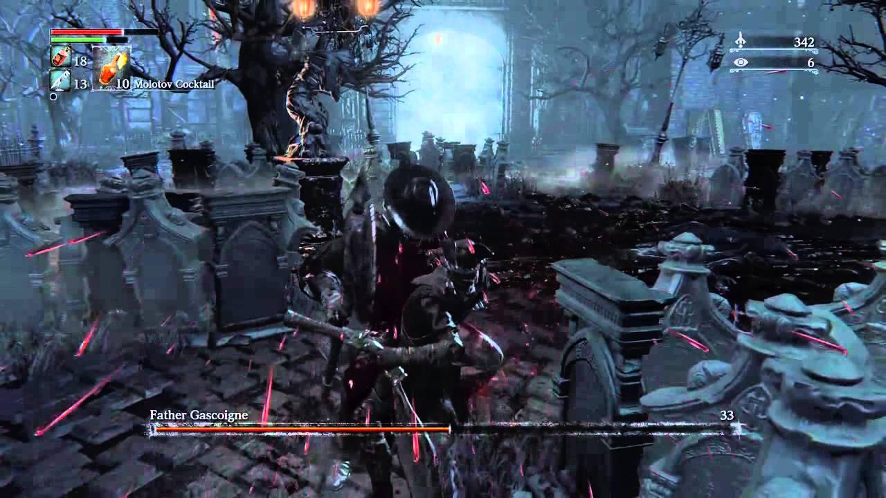 Father Gascoigne (7th Attempt) - Success! - Bloodborne - YouTube