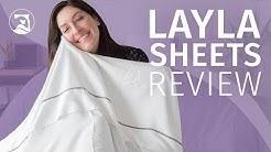 Layla Premium Bamboo Sheets - Soft & Silky